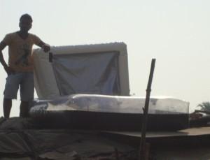 Waterdome at a field test (Photo: Rajat Bhardwaj)